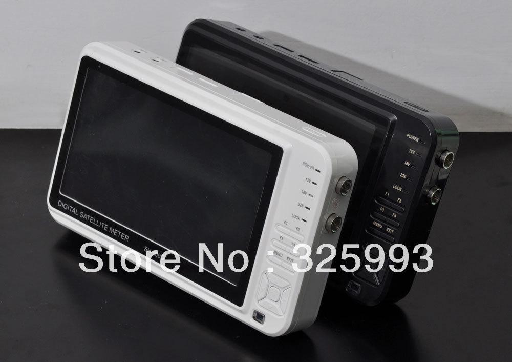 Sathero Digital Satellite Finder Meter Device SH-500 DVB S/S2 with AV input/output, USB interface(China (Mainland))