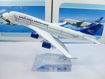 Argentina Airlines B747-400  Civil Aviation model,16CM, Aircraft model,plane model