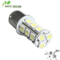 Free shiping 10pcs New 18-5050 LED 1156 BA15S SMD Car bulb Brake light Stop Turn Tail White DC 12 volt 898