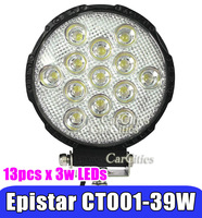 "6.2""39W LED Work Light,Super Power with CE,off-road vehicle,truck ,ATV,boat,bus light LED,working lamp(flood / spot beam)"