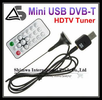 Free Shipping! New Mini DVB-T Signal USB 2.0 TV Stick Tuner Digital DVB-T HDTV Tuner Recorder&Receiver