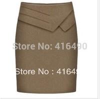 free shipping 2013 fashion career dress Waistline plus size step  slim hip
