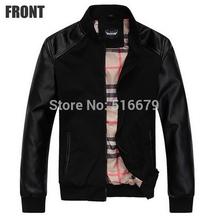 Autunm Winter Men's Fashion Casual Warm Big Size Slim Wind Coat Jacket Blazer Suit M-XXXL 2 Col