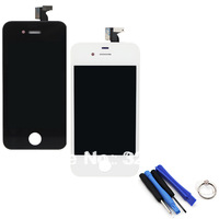 The Lowest Price For iPhone 4G LCD Display + Touch Screen digitizer + Bezel Frame + Tools Replacement Part Assembly