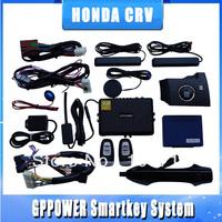 Dedicated vehicle remote starter for Honda CR-V, Car central lock kit, simply push button start engine