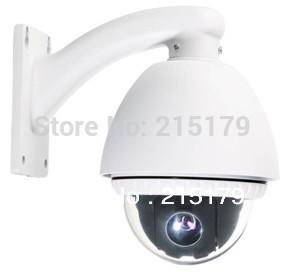 1/3 Sony ccd outdoor 10x mini speed dome camera 540tvl  ptz camera cctv camera with wall bracket with fan and heater