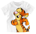 5pcs/lot baby children short sleeve t-shirt boy's girl's cartoon top clothing summer wear ZZ0067