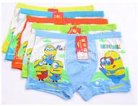 Children Boys Underwear Boxes Panties Fit 4-14yrs Baby Kids Cartoon Underwear Shorts Clothing 10Pcs/Lot One Size Mix Design