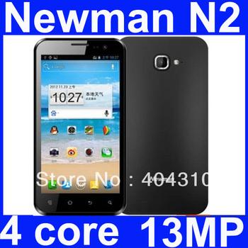 "free shipping Newman N2 newsmy Quad Core Exynos 4412 1.4GHz CPU 13MP  8GB 1GB RAM 4.7"" HD 1280x720P IPS Screen Smart Phone"