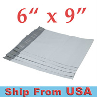 "300pcs #1 6x9 POLY MAILERS SHIPPING ENVELOPES BAGS 6"" x 9""  300/CASE"