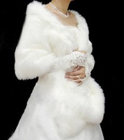 Hot sale 2013 Fur Shawl Winter Wedding Thick Thermal White Red Wedding Dress Cheongsam Cape Free Shipping