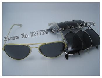 2013 HOT Free shipping (Gray,glass) Men Women ultraviolet designer vintage aviator radarlock shades wayfarer brand Sunglasses