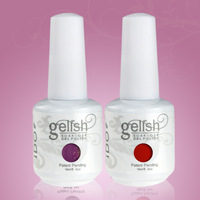 24pcs Free shipping Colors Uv Nail Gel Polish Gelnail factory (22 color gel +1 base coat+1 top coat) Uv Gel Nails