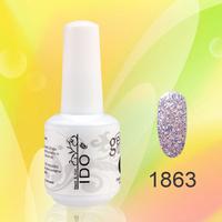36pcs DHL  free shipping  Nail Gel Polish Gelnail factory (32color gel +2 base coat+2 top coat) nail kit