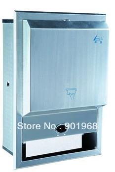 wall mounted-hotel stainless steel paper dispenser-roll tissue dispenser-napkin dispenser