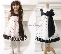 1pcs/lot The summer of 2013 The new Princess spell color little dress free shipping