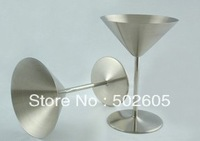 Stainless steel champagne flutes, martini cup, drink cups, wine glasses, cocktail glasses