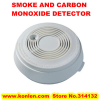 Free shipping 2 in 1 smoke carbon monoxide detector for CO and fire alarm