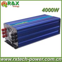 High Efficiency, 4000W DC12V or DC24V or DC48V Pure Sine Wave Inverter (Peak Power 8000W), Off Grid Inverter