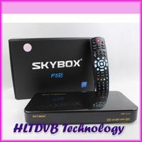 2014 Hot Selling Original SKYBOX F5 hd pvr skybox f5s support GPRS G1 dongle Full HD 1080p + FTA+Multi CAs+LAN+USB+PVR