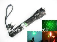 2013 New Style Powerful 500mw Green Laser Pointer Pen W/Flashing Beam Adjustable Focus,532nm,EK brand,high power laser pointer