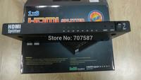3D HDMI 8 PORT hdmi Splitter 1x8 V1.3b 1080P HDMI splitter switch AMPLIFY 15M for HDTV free shipping