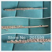 17 holes open keys flute