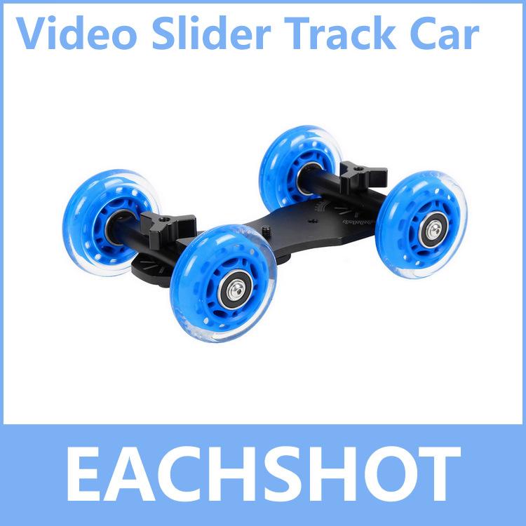Table Dolly Car, Wholesale High Quality Mini Desktop Camera Rail Car Table Dolly Car Video Slider Track + Free Shipping(China (Mainland))