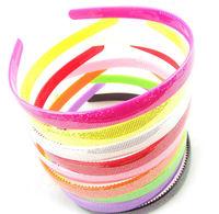 Free shipping,Wholesale Retail Colorful Hairband, Headband,Plastic Hair Band,Hair Accessory,Bulk Price,100pcs/lot , many colors