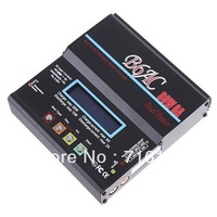 Battery Charger B6AC 80W 6A NiCd/MH/LiLo/LiFe/Pb RC Battery Balance Charger lithium battery charger free shipping