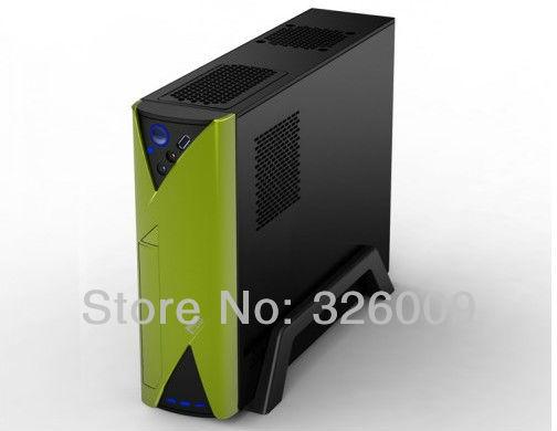 htpc case mini pc case PCCOOLER f1 mini computer case usb3.0 htpc mini computer case power supply set(China (Mainland))