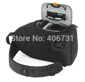 Professional  New Lowepro  SlingShot 200 AW Photo Camera Backpack Digital Camera Shoulder Bag  for Canon 600D Nikon  D5100 D3200