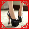 Free Shipping 2013 new arrive 6 inch heel fashion sexy women platform high heel pumps and women's spring summer shoes #Y8296F(China (Mainland))