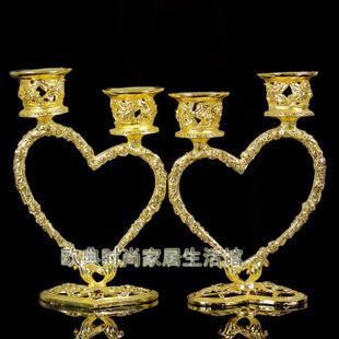 Heart Candlestick crafts