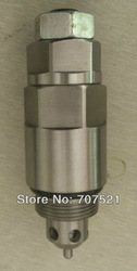 709-70-55200 Hydraulic relief valve for Komatsu excavator PC200-5, digger spare parts service valve PC200 -5, free shipping(China (Mainland))