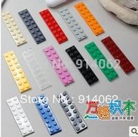 Free shipping  DIY plastic building blocks  200pcs/lot color assorted