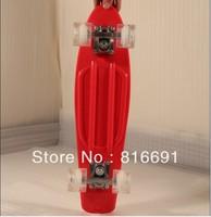 free shippingMINI SKATE BOARDS RED  PP PENNY SKATEBOARD  STYLE longboards