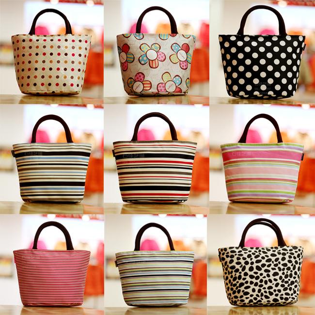 Free shipping! 708 New Fashion Good quality canvas lunch bag women's portable bag casual handbag beach storage Mom bag totes(China (Mainland))