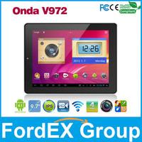 """Onda V972 9.7"""" Tablet IPS III Retina Screen Allwinner A31 Quad core CPU 2GB DDR3 Android 4.1 Dual Camera 2048x1536 pixel"""