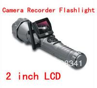 High bright Camera recorder LED flashlight Night vision with 2.4G wireless transmission