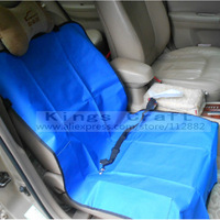 One Seat Waterproof Pet Seat Cover With Pet Belt,  Nylon Waterproof Car Seat Cover Free Shipping