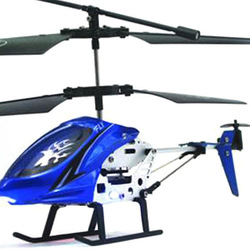 New Mini 2 Channel I/R Remote Control RC Helicopter With Gyro Kids Toy Gift Blue Free shipping& Wholesale(China (Mainland))