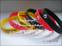 League of Legends Wristband, LOL Silicon Bracelet, Promotion Gift, 3Colours, Adult, 100cs/Lot, Free Shipping