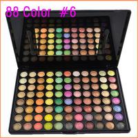 Fashion 88 Color #6 Christmas Rainbow Candy Colors Eye Shadow Palette Eyeshadow Sets
