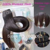 "Top Quality  Yaki  Same Length: 3pcs/lot 12""-28"" 100% Brazilian virgin hair extensions brazilian hair  100g=3.5oz/pc"