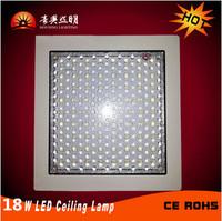 18W LED Square Kitchen Panel Ceiling Light, AC85-265V, White Body, Size:25*25*3CM, LED Kitchen Light, Lobby Light, Free Shipping