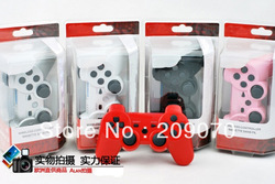 hot!!! Wireless Bluetooth Game Controller For PS3 PS III Controls Joysticks Gamepads Controllers(China (Mainland))