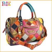Hot!!!Female Bags 2014 Women Motorcycle Bags Handbag Vintage Shoulder Bag Tote Satchel Genuine Leather PH67