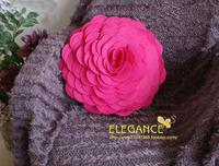3D Flower cushion cover handmede 100% polyester felt popular