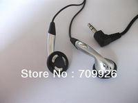 3.5mm Siliver stereo earphones/ headphones, Mp3,Mp4,computer earbuds
